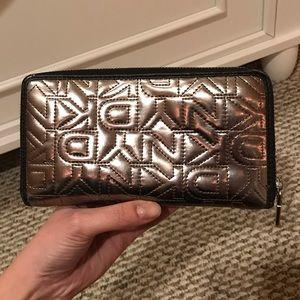 Silver DKNY Wallet